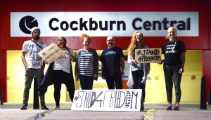Cockburn Central Town Centre - our home for 24 hours